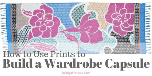How to Use Prints to Build a Wardrobe Capsule