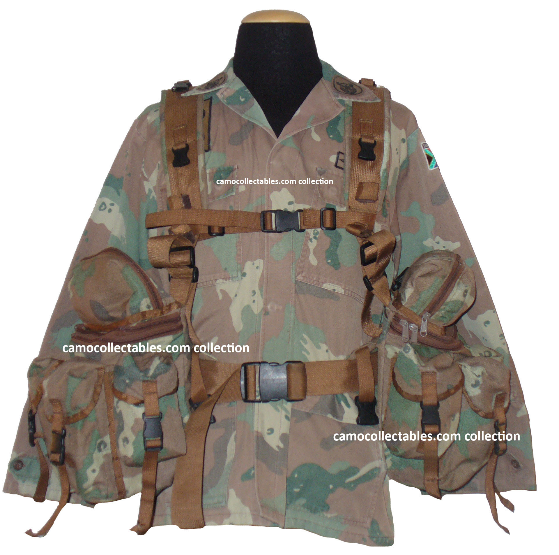 Camo Collectables. SANDF S2000 Battle Jacket Niemoller Style
