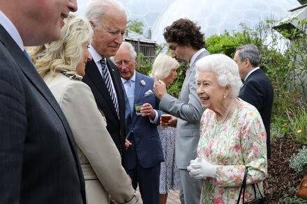 President Biden and Jill Biden will meet with the queen at Windsor Castle.