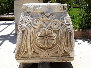 Arkeoloji müzesinin bahçesinden tarihteki Yonca figürü :)
