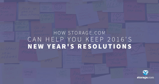 Top 2016 New Year's Resolutions | Storage.com