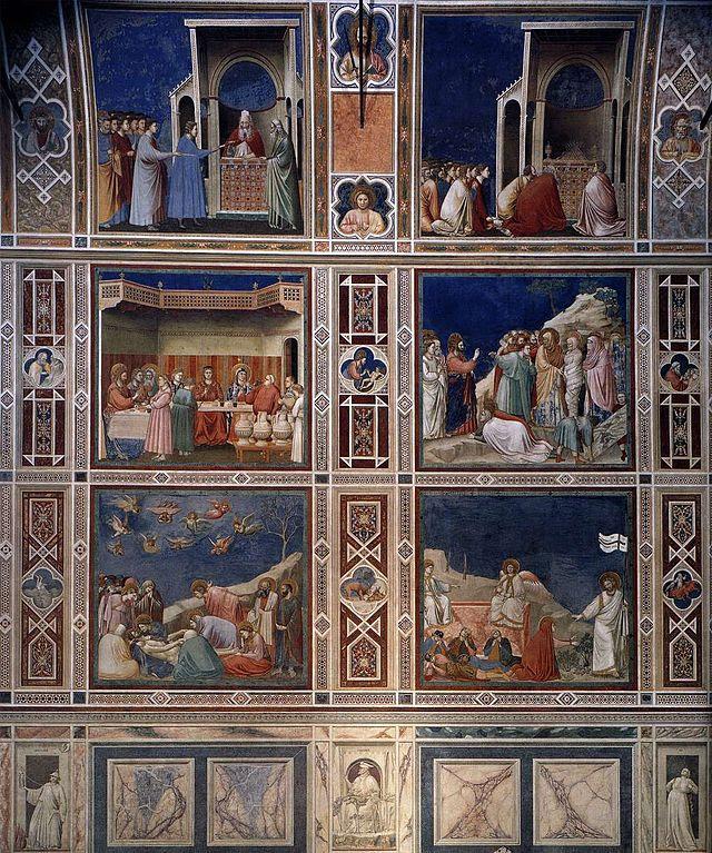 Giotto di Bondone - Scenes with decorative bands - WGA09284.jpg