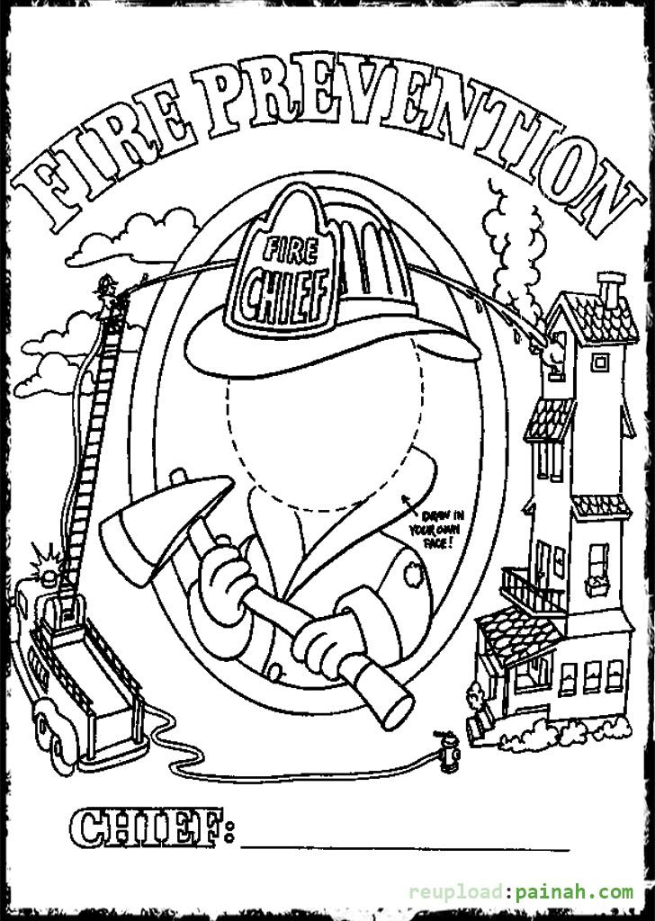 Free Printable Fire Safety Coloring Pages Update Free Fire 2020
