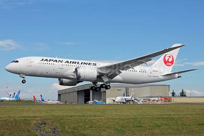 JAL-Japan Airlines Boeing 787-8 Dreamliner JA832J (msn 34859) PAE (Nick Dean). Image: 912748.