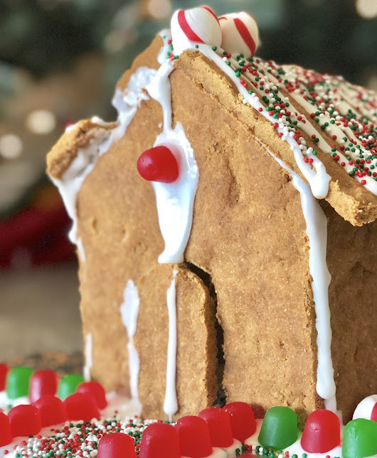 Gingerbread House & Royal Icing - Food Allergy P.I.