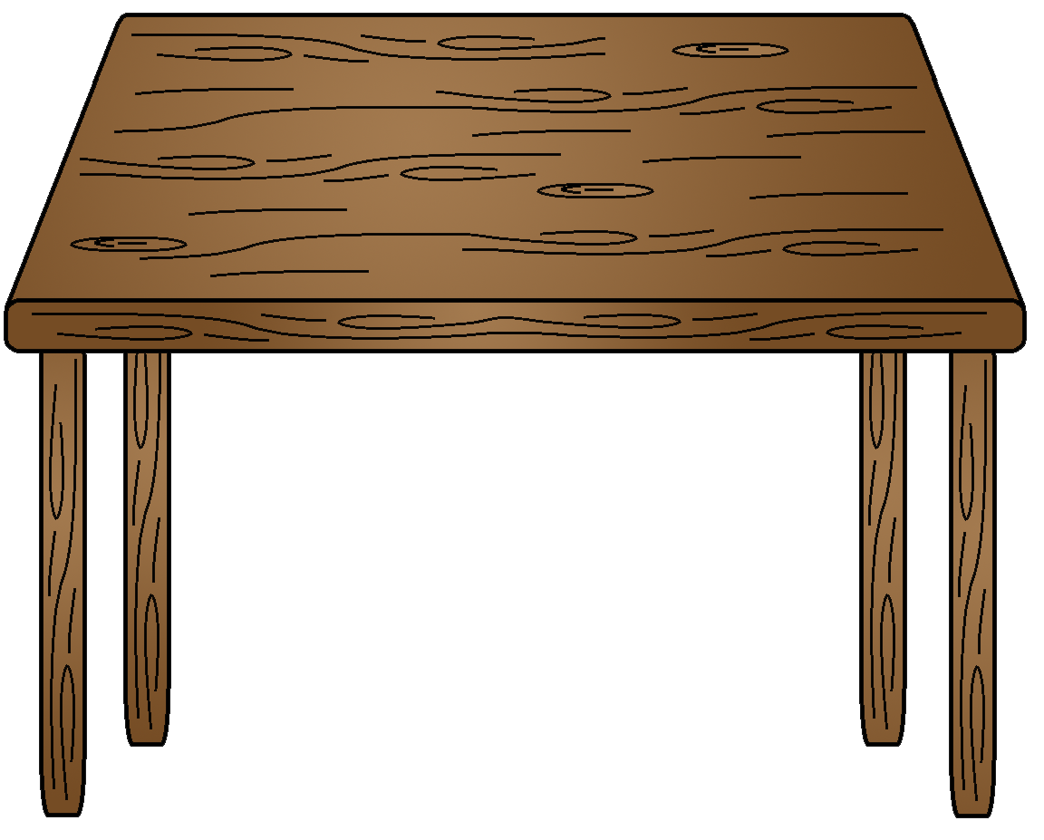 Table Cartoon Clipart | Free download on ClipArtMag