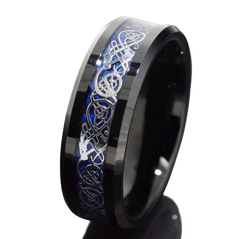 15 Best Collection of Men's Wedding Bands Size 14