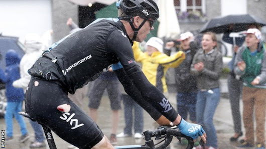 Froome pulls out of Tour after fall