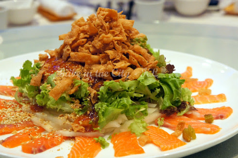 Norwegian Salmon 'Yee Sang' 02