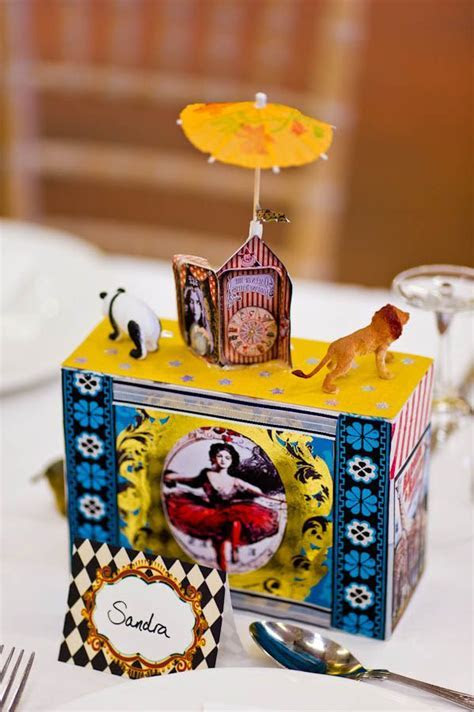 Circus wedding table topper #vintagecircus #circuswedding