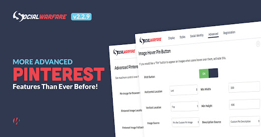 Grow Your Pinterest Traffic with Super Optimized Sharing! (New Features) - Warfare Plugins