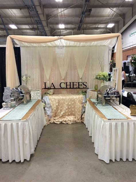 Bridal show booth   Trade show decorations in 2019