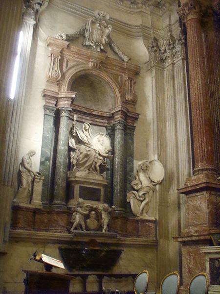 Fil: San Giovanni dei Fiorentini, romer, cappella Falconieri 1.JPG