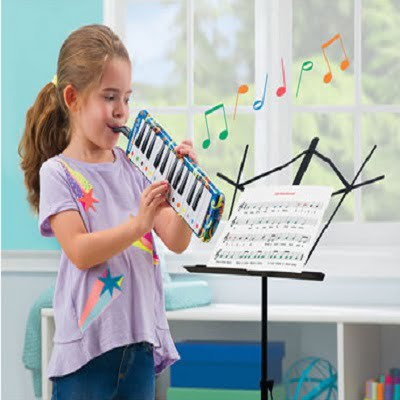 The Learn To Play Melodica - teaches children breath control and keyboard techniques while creating the sound of a harmonica