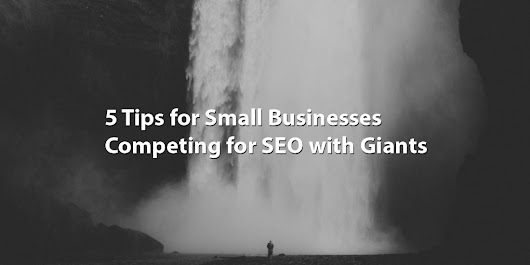 5 Tips for Small Businesses Competing for SEO with Giants - Seattle Web Search: Fast, Affordable and Efficient SEO