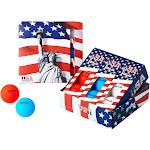 Volvik USA Golf Ball Pack - 3 Sleeves - Red White Blue