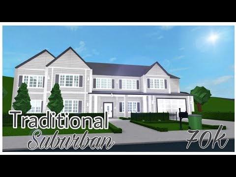 18 Traditional House Bloxburg