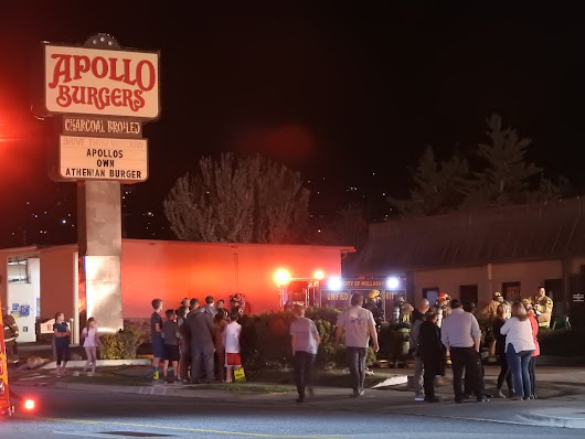 No injuries in fire at Holladay Apollo Burger | Gephardt Daily