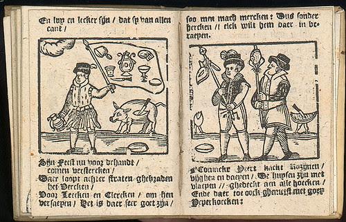 Verhael met den Almanach - Jacob Mesens 1692 a