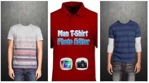 man tshirt foto editor