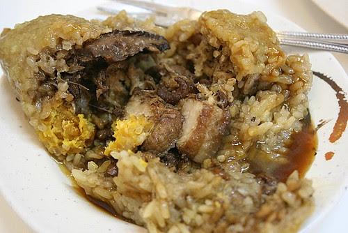Taiwanese rice dumpling