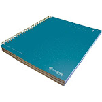 Livescribe 3-Subject Lined Notebook, Dark Blue