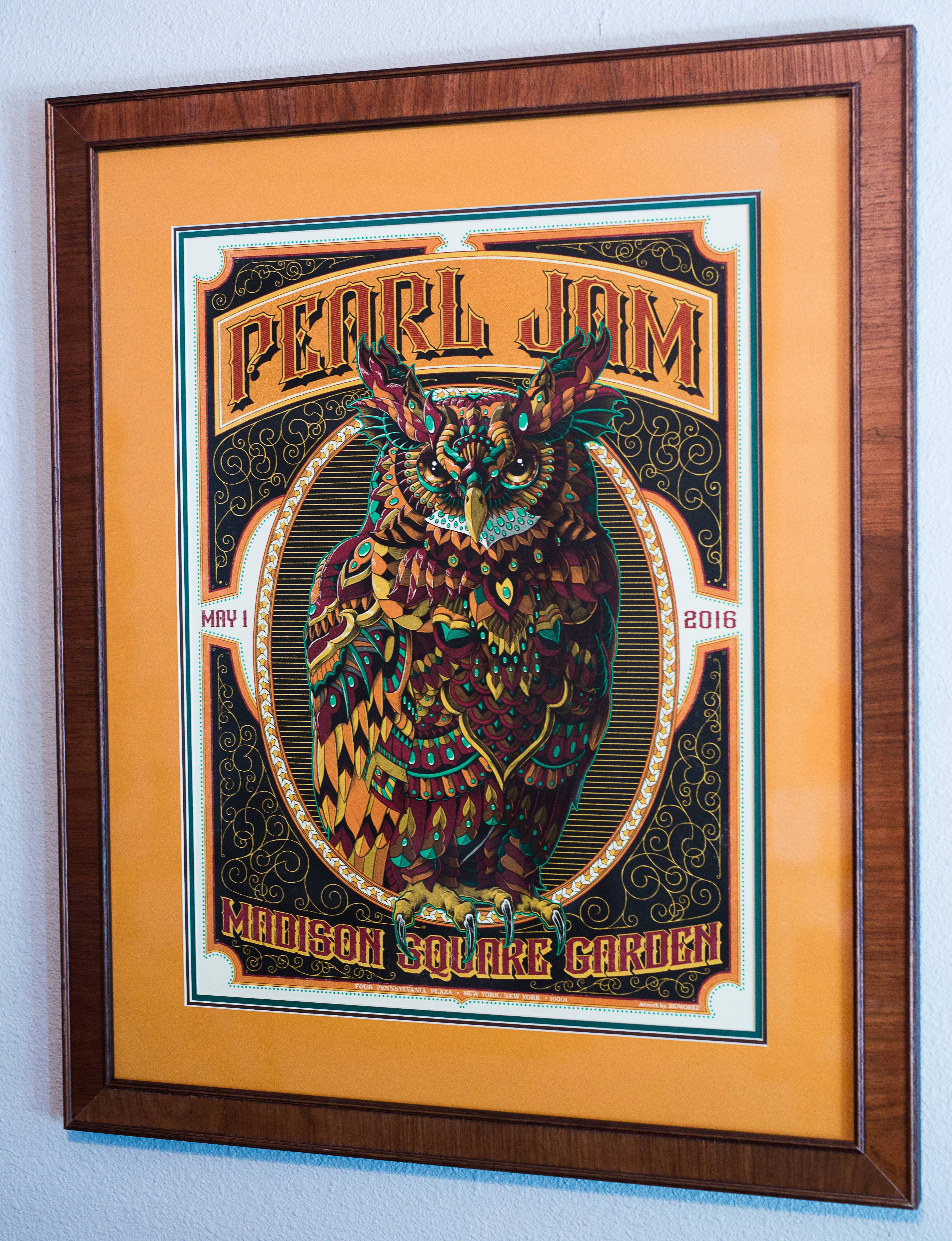 Framed Poster Thread Page 277 Pearl Jam Community