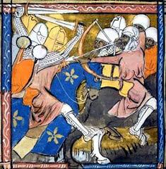 Scène des croisades