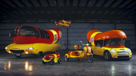 Oscar Mayer plumps up Wienerfleet with Wienermini, Wiener Rover, Wienercycle and Wienerdrone - Autoblog
