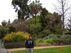 Dalam Royal Botanic Garden, Melbourne, Australia