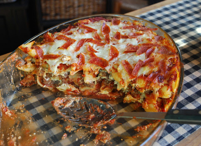 Pepperoni Pizza Casserole 1