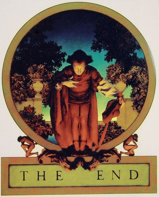 The End by Maxfield Parrish #art