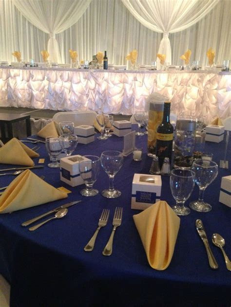 1746 best images about Navy Blue & Yellow Wedding on