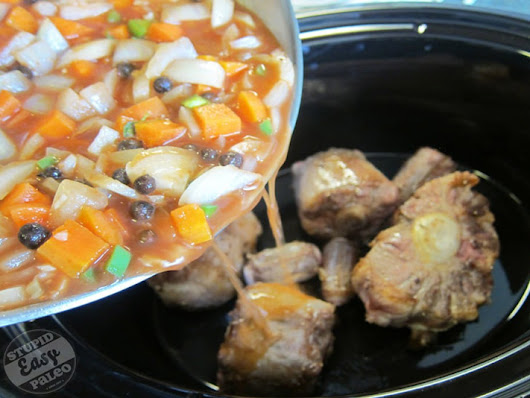Slow Cooker Caribbean Oxtails Stupid Easy Paleo