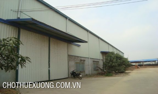 2400m2 factory for lease in Phung Chi Kien, My Hao, Hung Yen
