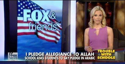 Republican Fascists Want Pledge of Allegiance in English Only