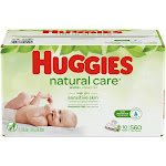 Huggies Wipes Natural Care Baby Wipes - 560 count