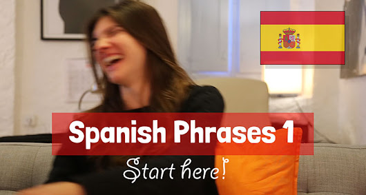 Spanish Phrases 1.1 : Introducing yourself -