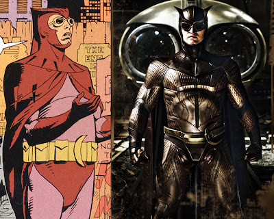 Watchmen Nite Owl movie and comic costume
