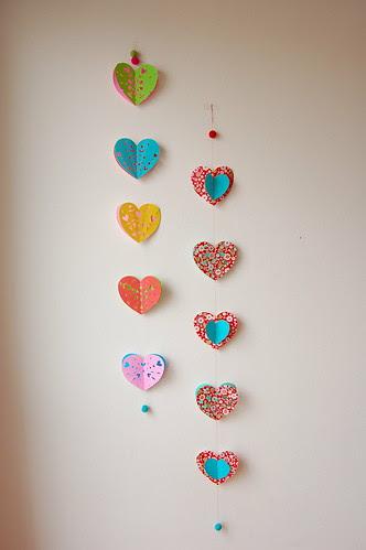 Valentine garland 5