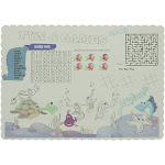 Fun And Games Placemats, Pack of 1,000