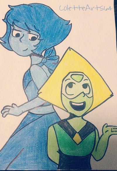 My favorite gem characters and OTP!! <33 Steven universe belongs to Rebecca Sugar