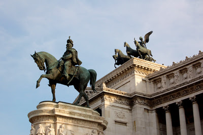 equestrian statue of King Victor Emanuel II
