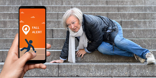 Help Seniors with Fall Tracker Alert System - Safety Senior App