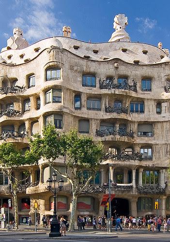 Detalle Fachada Casa Milá (La Pedrera de Gaudí)