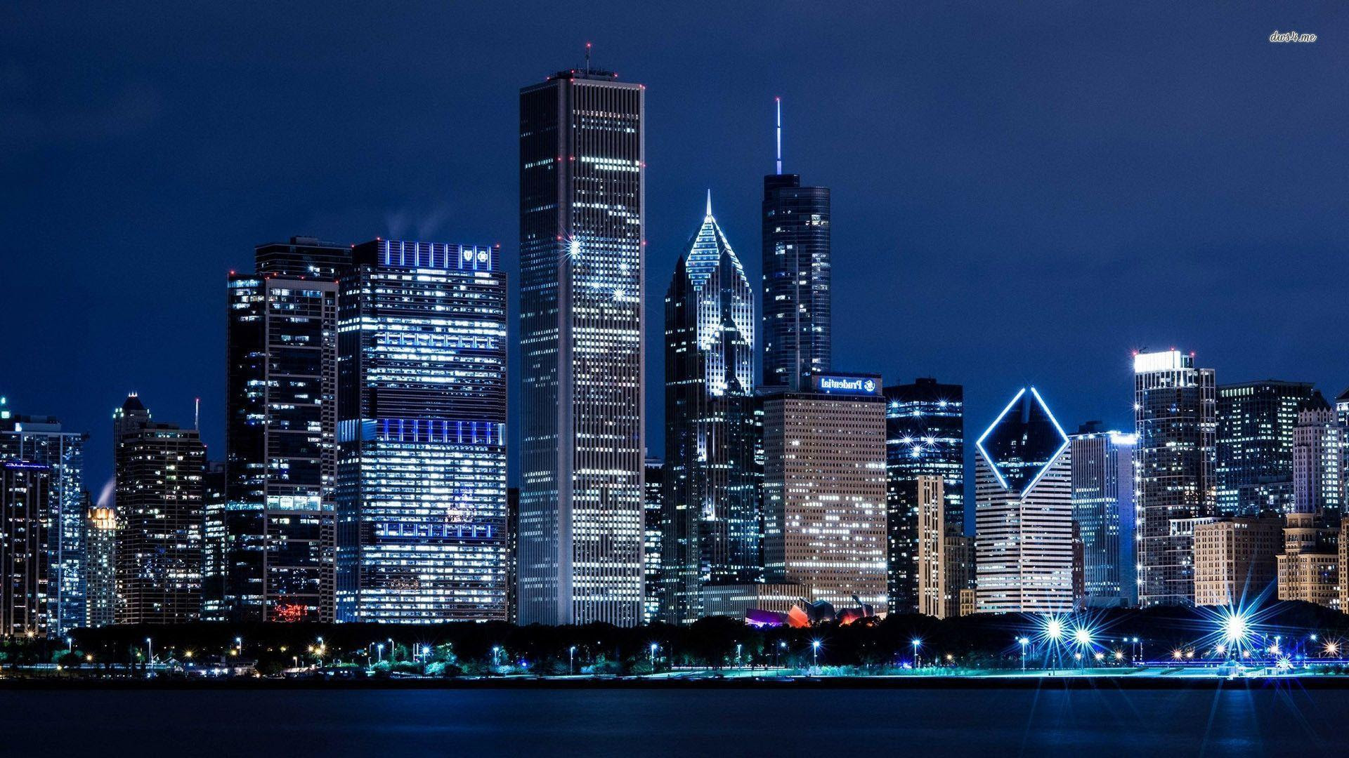 Chicago Skyline Wallpapers - Wallpaper Cave