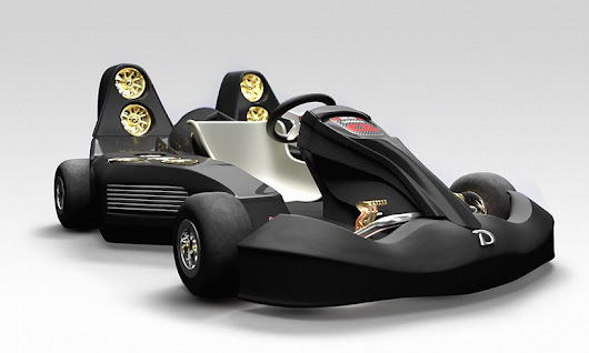 the daymak c5 blast go-kart speeds from 0 to 60 in less than two seconds