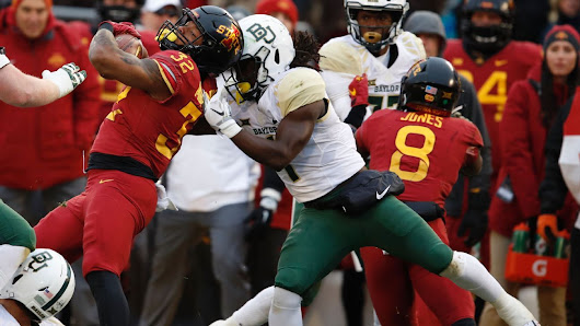 Iowa State RB, Baylor DE ejected for fighting