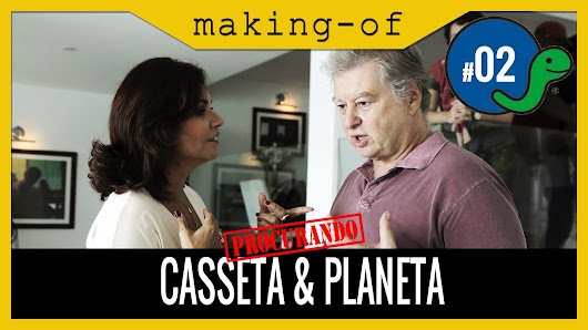 Procurando Casseta & Planeta | Making-of :: Dia 02 - YouTube