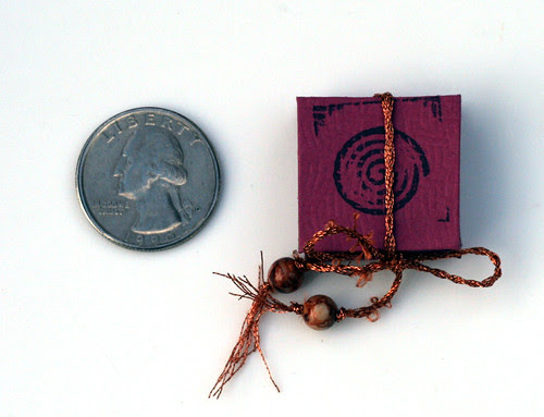 Tiny little book from Jocelyn